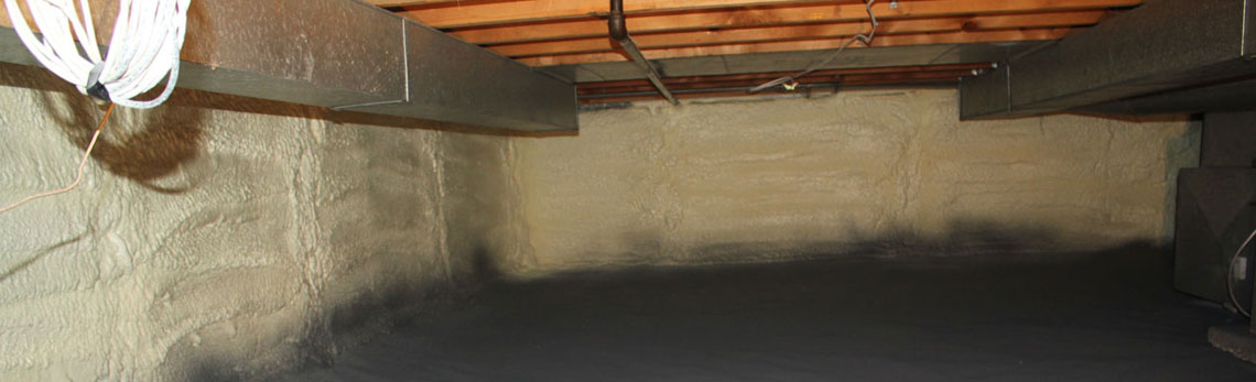 crawl space insulation in New Mexico